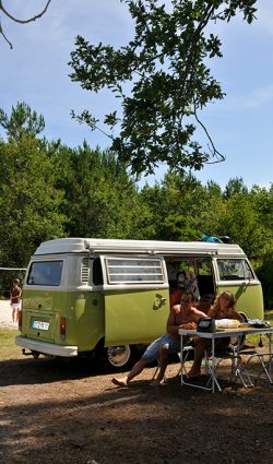 emplacement camping biscarrosse