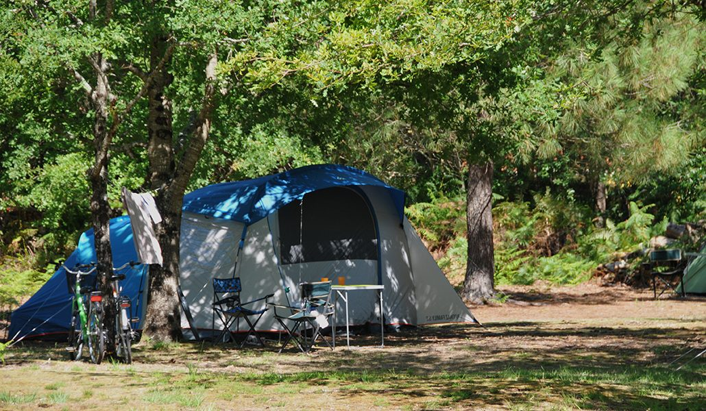 emplacement Camping landes