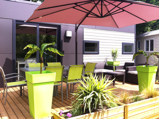 mobil home luxe landes