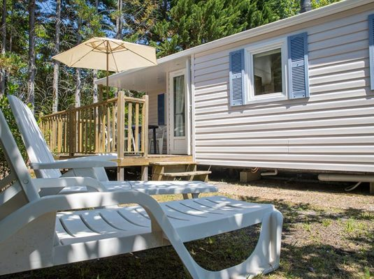location mobil home biscarrosse pas cher