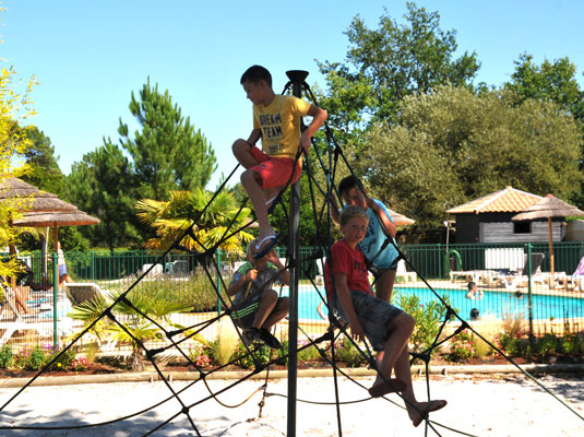 camping biscarrosse familial