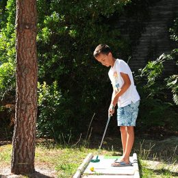mini golf biscarrosse