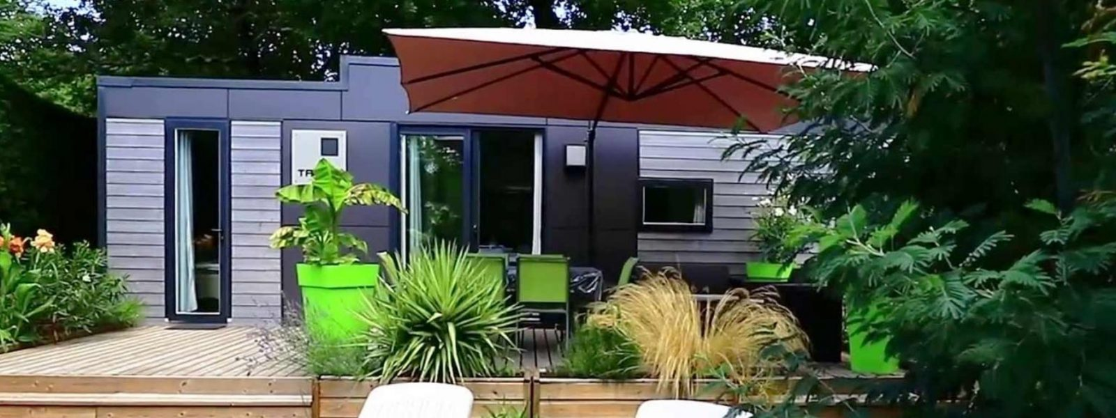 Loction mobil home luxe Biscarrosse